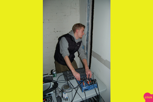 photo ~ Mike Gonek (Vital Parts, Mikegonekal, Manyc Records) ~ 2006-01-01 ~ New Year's Eve 2006 Celebration ~ sputnyc
