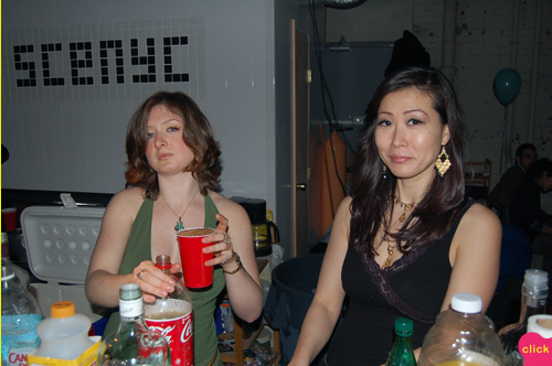 photo ~ Zoe Julich, Sonia Kim ~ 2006-01-01 ~ New Year's Eve 2006 Celebration ~ sputnyc