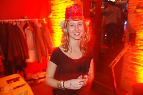 photo ~ Jessica ~ Arnaud Stebe ~ 2008-01-01 ~ New Year's Eve 2008 Celebration ~ sputnyc