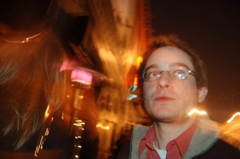 photo ~ Philip Shearer (Tramponaline, Manyc Records) ~ Arnaud Stebe ~ 2008-01-01 ~ New Year's Eve 2008 Celebration ~ sputnyc