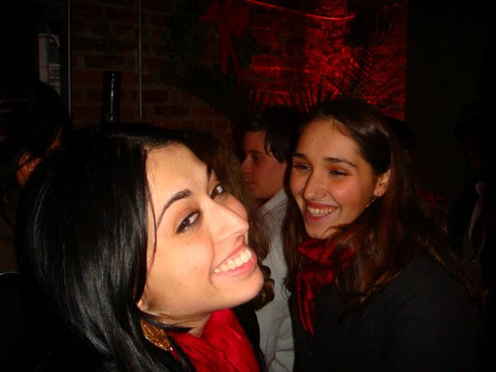 photo ~ Dimitra Theodoropoulos, Maja Kasnar ~ Emeric Trang ~ 2008-01-01 ~ New Year's Eve 2008 Celebration ~ sputnyc