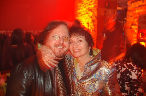 photo ~ Spiro and Francoise Carras ~ Arnaud Stebe ~ 2008-01-01 ~ New Year's Eve 2008 Celebration ~ sputnyc