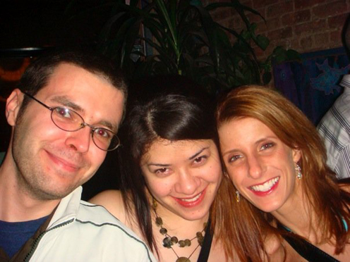 photo ~ David, Mina Fasolo, reveler ~ Emeric Trang ~ 2008-01-01 ~ New Year's Eve 2008 Celebration ~ sputnyc