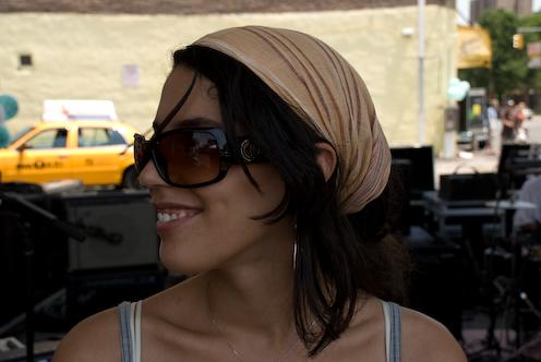 photo ~ Chanez Baali (Tramponaline, Manyc Records) ~ 2008-06-29 ~ Carnival ~ sputnyc