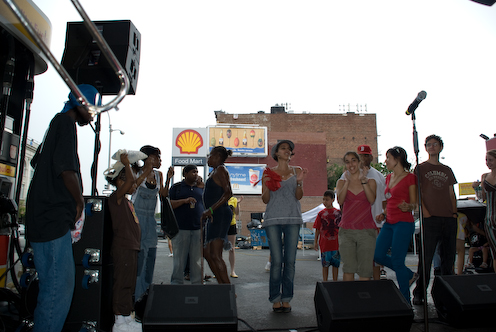photo ~ rain begins ~ 2008-06-29 ~ Carnival ~ sputnyc