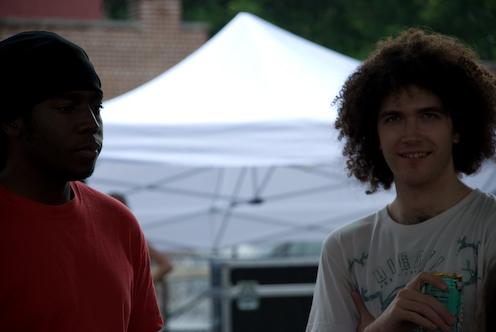 photo ~ Shaheim, Mike Schwab (Tramponaline) ~ 2008-06-29 ~ Carnival ~ sputnyc