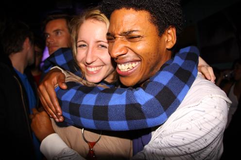 photo ~ Jessica Shearer (Tramponaline, sputnyc), Jonathan ~ 2009-10-17 ~ Carnival ~ sputnyc