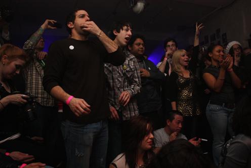 photo ~ revelers ~ Nicholas Benik ~ 2010-01-01 ~ New Year's Eve 2010 Celebration 10th Anniversary Event ~ sputnyc