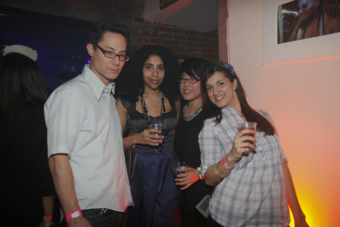 photo ~ Todd, Abir Ahmad, Leejung Hong, Caroline ~ Edgar Barbosa ~ 2010-01-01 ~ New Year's Eve 2010 Celebration 10th Anniversary Event ~ sputnyc