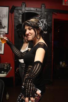 photo ~ Kristy Abbatiello (The Kali) ~ Nicholas Benik ~ 2010-01-01 ~ New Year's Eve 2010 Celebration 10th Anniversary Event ~ sputnyc