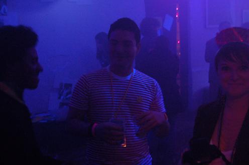 photo ~ Jonathan (tectonyc), Eddie Rodriguez (Red Light), Shaina Simeon ~ Arnaud Stebe ~ 2010-01-01 ~ New Year's Eve 2010 Celebration 10th Anniversary Event ~ sputnyc