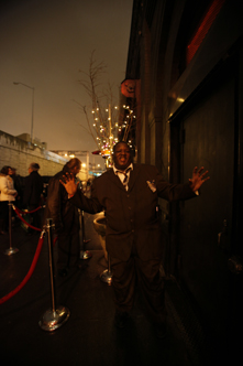 photo ~ security dance ~ Edgar Barbosa ~ 2010-01-01 ~ New Year's Eve 2010 Celebration 10th Anniversary Event ~ sputnyc
