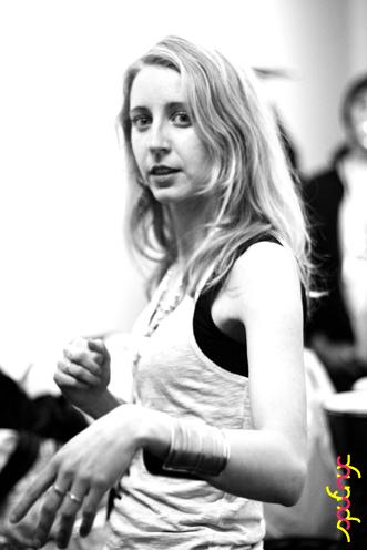 photo ~ Jessica Shearer (Tramponaline) ~ Nikolitsa Boutieros ~ 2011-04-15 ~ sputnyc and Lycee Francais de New York ~ 75th Anniversary ~ sputnyc