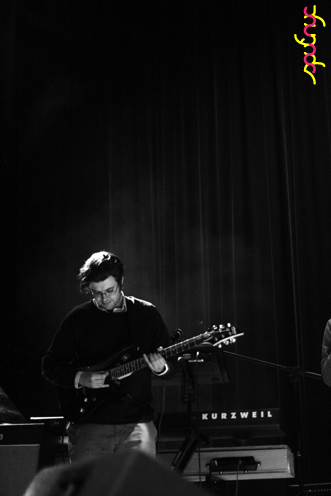 photo ~ David Macleod (Bandamous) ~ Nikolitsa Boutieros ~ 2011-04-15 ~ sputnyc and Lycee Francais de New York ~ 75th Anniversary ~ sputnyc