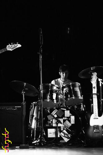 photo ~ Stewart Laufer (Bandamous) ~ Nikolitsa Boutieros ~ 2011-04-15 ~ sputnyc and Lycee Francais de New York ~ 75th Anniversary ~ sputnyc