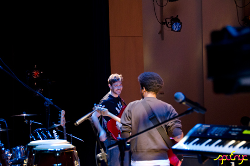 photo ~ Miguel, Jonathan ~ Shaheim Jackson ~ 2011-04-15 ~ sputnyc and Lycee Francais de New York ~ 75th Anniversary ~ sputnyc