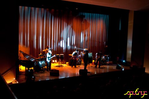 photo ~ Bandamous ~ Yannis Mavromatakis ~ 2011-04-15 ~ sputnyc and Lycee Francais de New York ~ 75th Anniversary ~ sputnyc