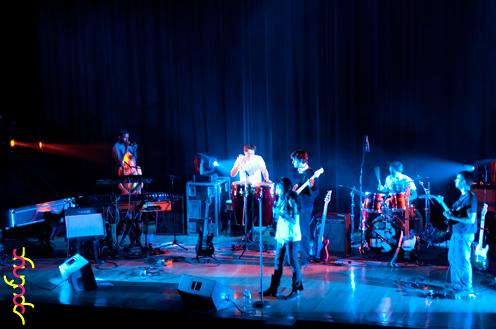 photo ~ Tramponaline ~ Yannis Mavromatakis ~ 2011-04-15 ~ sputnyc and Lycee Francais de New York ~ 75th Anniversary ~ sputnyc