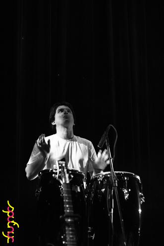 photo ~ Oliver Shearer (Tramponaline) ~ Nikolitsa Boutieros ~ 2011-04-15 ~ sputnyc and Lycee Francais de New York ~ 75th Anniversary ~ sputnyc