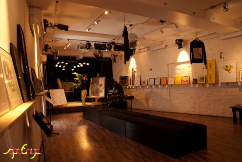 photo ~ Backroom awaits ~ Akiko Isomoto ~ 2012-05-19 ~ sputnyc presents clinyc art * design * music with Manyc Records ~ sputnyc