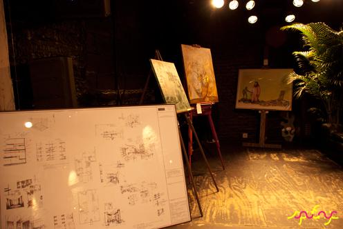 photo ~ works by Akiko Isomoto (clinyc), Marthalicia Matarrita, Victor de Matha (clinyc) ~ Akiko Isomoto ~ 2012-05-19 ~ sputnyc presents clinyc art * design * music with Manyc Records ~ sputnyc