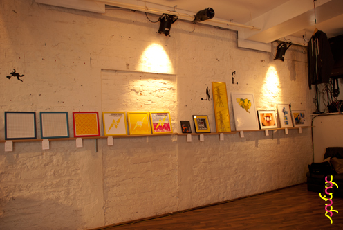 photo ~ clinyc wall ~ Akiko Isomoto ~ 2012-05-19 ~ sputnyc presents clinyc art * design * music with Manyc Records ~ sputnyc