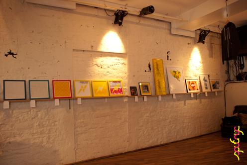 photo ~ clinyc wall ~ Akiko Isomoto ~ 2012-05-19 ~ sputnyc presents clinyc art * design * music with Manyc Records ~ sputnyc