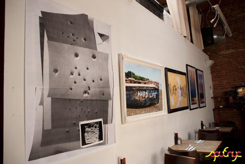 photo ~ works by Jennifer Grimyser (clinyc), J.Guevara, Edward Jahn ~ Akiko Isomoto ~ 2012-05-19 ~ sputnyc presents clinyc art * design * music with Manyc Records ~ sputnyc