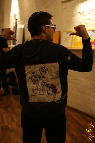 photo ~ Anthony Ramirez (fromTheBronx) ~ Jimmy Jaw ~ 2012-05-19 ~ sputnyc presents clinyc art * design * music with Manyc Records ~ sputnyc