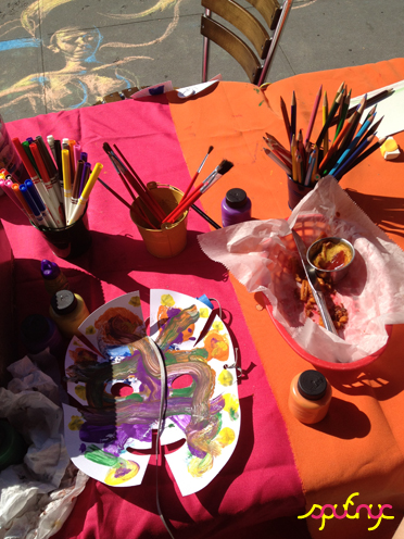 photo ~ more color ~ Gabrielle Archer ~ 2012-05-19 ~ sputnyc presents clinyc art * design * music with Manyc Records ~ sputnyc