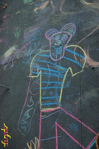 photo ~ Mr. Clown Man ~ Arnaud Stebe ~ 2012-05-19 ~ sputnyc presents clinyc art * design * music with Manyc Records ~ sputnyc