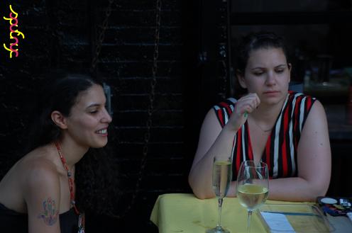 photo ~ Chanez, Julia Livi ~ Arnaud Stebe ~ 2012-05-19 ~ sputnyc presents clinyc art * design * music with Manyc Records ~ sputnyc