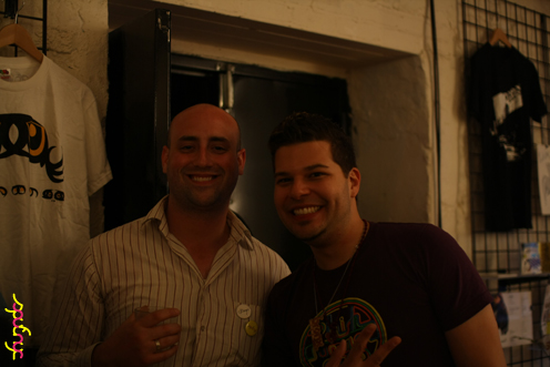 photo ~ Dan, Anthony ~ Jimmy Jaw ~ 2012-05-19 ~ sputnyc presents clinyc art * design * music with Manyc Records ~ sputnyc