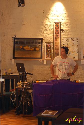 photo ~ Eddie ~ Arnaud Stebe ~ 2012-05-19 ~ sputnyc presents clinyc art * design * music with Manyc Records ~ sputnyc