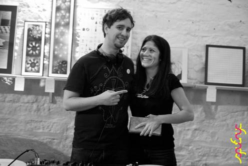 photo ~ Marc, Caryn Cast ~ Nikolitsa Boutieros ~ 2012-05-19 ~ sputnyc presents clinyc art * design * music with Manyc Records ~ sputnyc