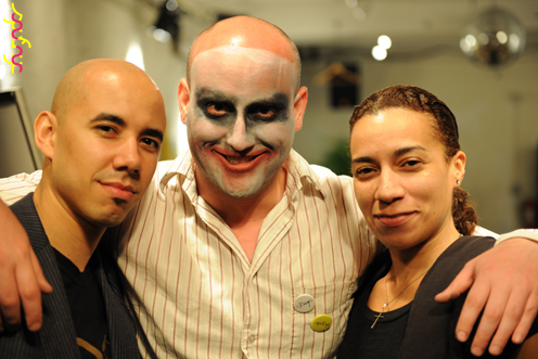 photo ~ Luis, Dan, Jamie Jones ~ Luis D Rosado ~ 2012-05-19 ~ sputnyc presents clinyc art * design * music with Manyc Records ~ sputnyc