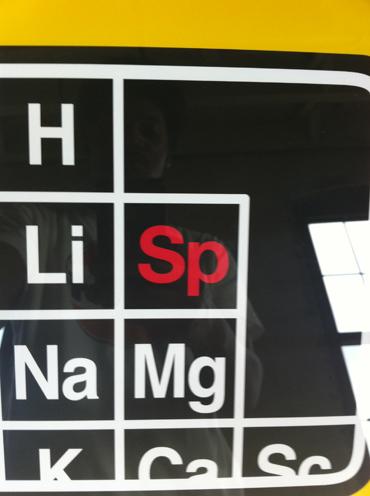 photo ~ sputnyc table of elements ~ Jonathan McIntosh ~ 2012-05-19 ~ sputnyc presents clinyc art * design * music with Manyc Records ~ sputnyc