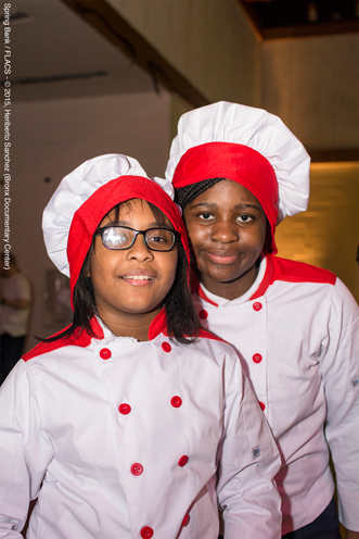 photo ~ FLACS Winter Cooking Club Class of 2015 junior chefs ~ Heriberto Sanchez ~ 2015-02-27 ~ Spring Bank presents Healthy Hearts ~ sputnyc