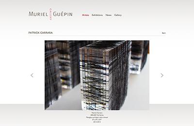 publication ~ Patrick Carrara ~ staff ~ 2014-08-30 ~ Muriel Guepin Gallery ~ sputnyc